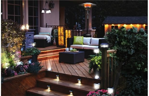Outdoor lighting popular for patio decor — and zapping mosquitoes