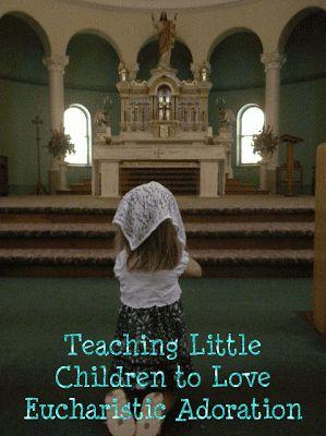 Article on Suscipio 4 Women: Teaching Little Children to Love Eucharistic Adoration