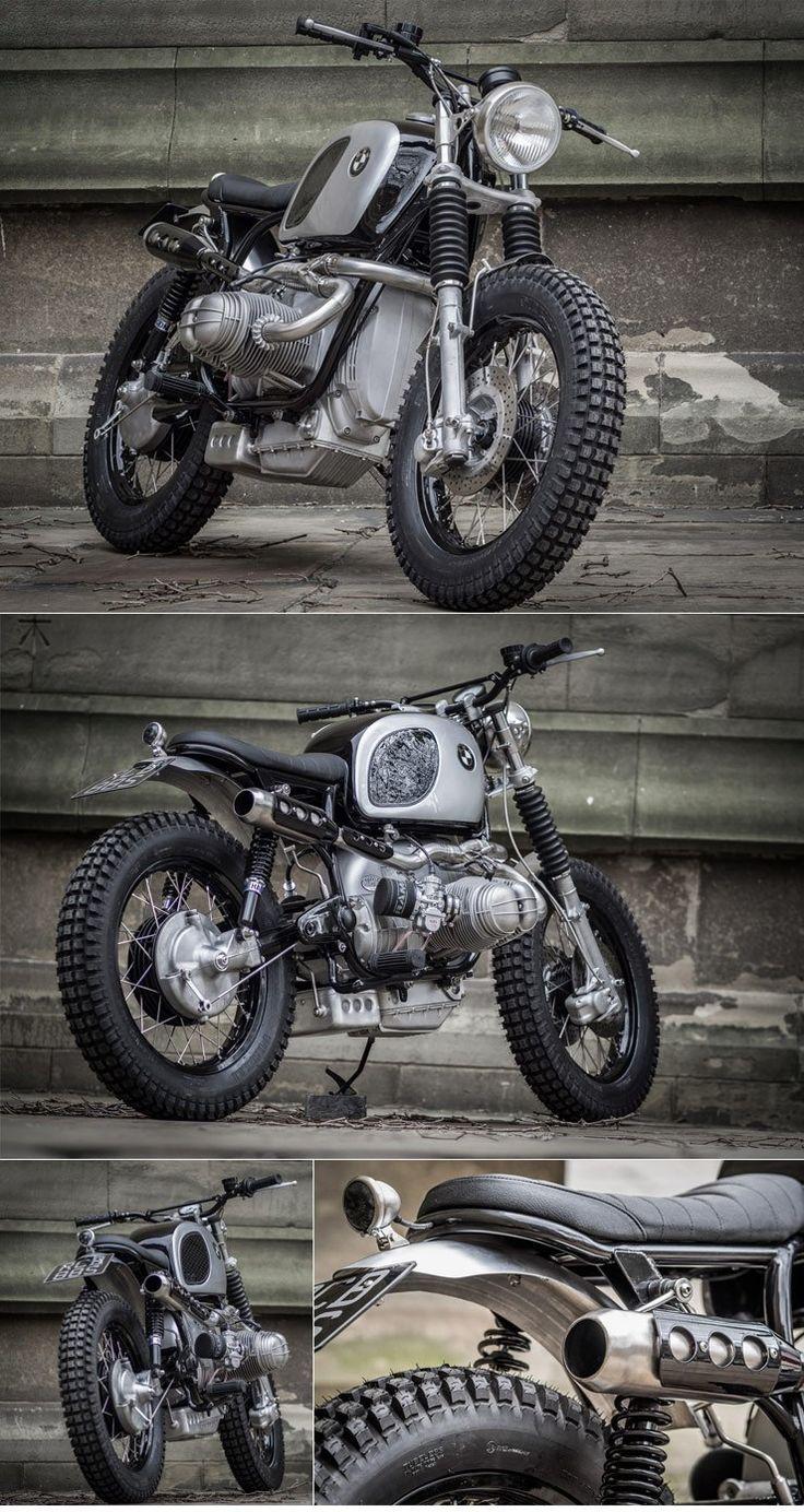 Down  Out BMW Scrambler :: via The Bike Shed