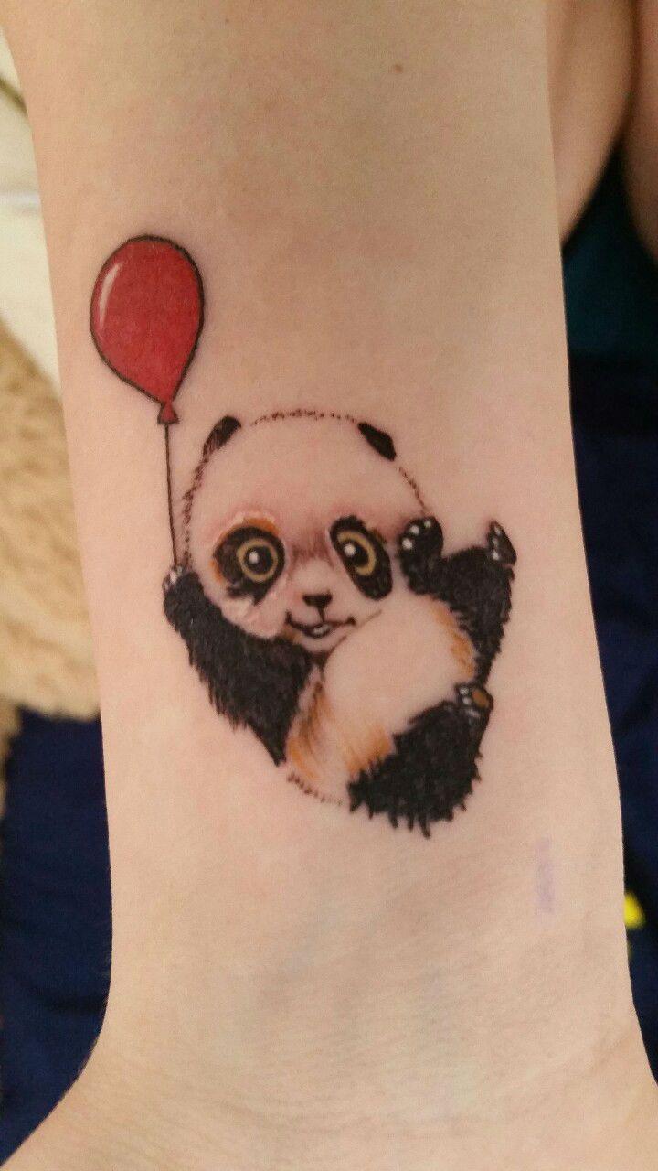 best panda images on pinterest cute small tattoos panda tattoos