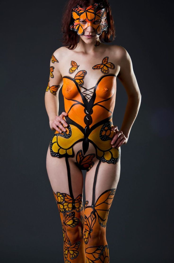 Fantasy Body Painting   Body Painting   I Love Body Art This is Cute. I'd want a tad more coverage though