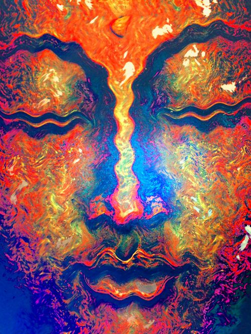 141 best images about modern buddha art on pinterest for Buddha mural paintings