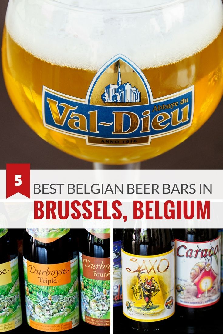 Most bars in Brussels serve beer, but few offer an extraordinary selection. So today, we share our top five Brussels bars and cafés for tasting Belgian beer.