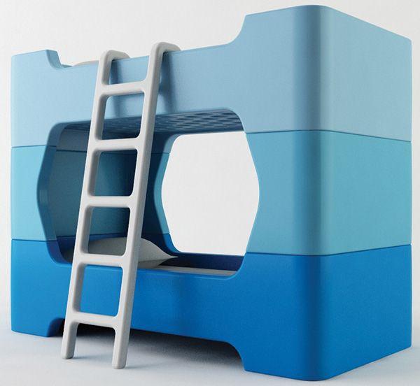 awesome bunk beds: Kids Beds, Kids Bedrooms, Kids Furniture, Idea, Marc Newson, Bunki, Bunk Beds, Beds Design, Kids Rooms