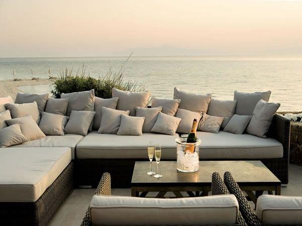 Bar at Sani Beach Club, Sani, Greece