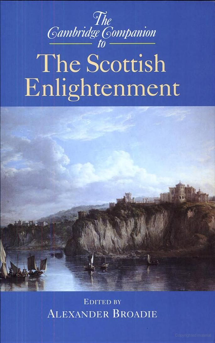 The Cambridge Companion to the Scottish Enlightenment - Google Books