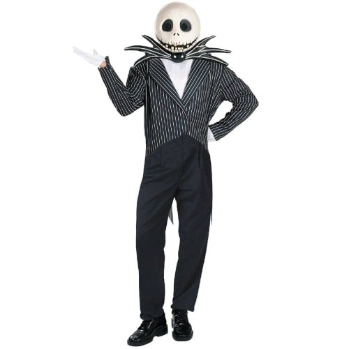 best classic adult mens halloween costume jack skellington from the nightmare before christmas - Male Costumes Halloween