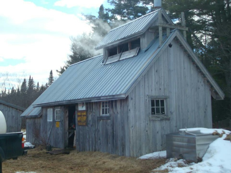 1000 images about maple syrup and sugar houses on for Shack homes