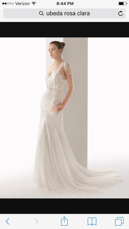 184 best wedding dress ideas images on pinterest bridal gowns rosa clar ubeda wedding dress rosa clar ubeda wedding dress on tradesy weddings formerly junglespirit Images