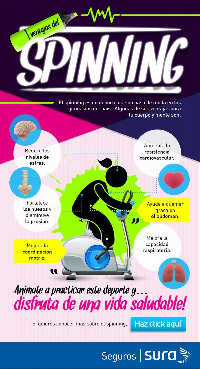 Conoce los beneficios que puedes tener al practicar el spinning -