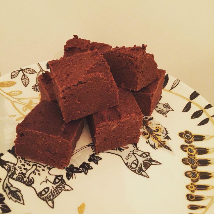 Sweet potato choc brownies. Refined sugar and wheat free