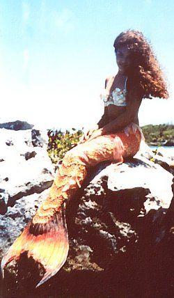 Tatiana in mermaid costume