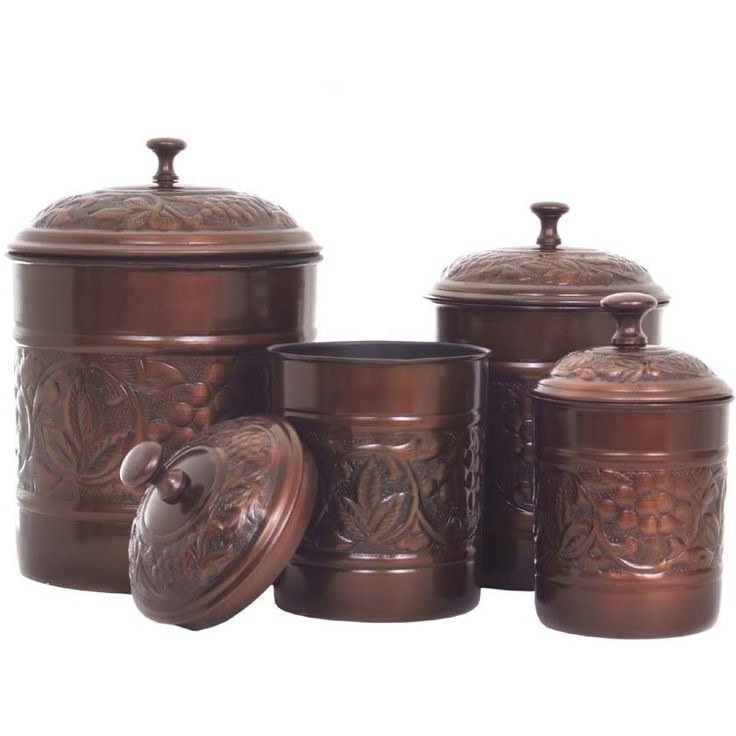 38 best images about old canister sets on pinterest for Kitchen set vintage