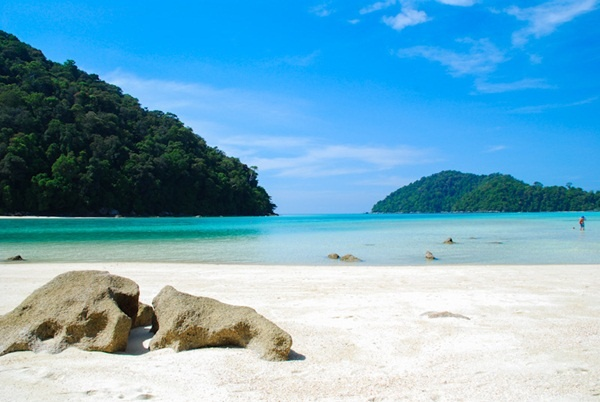 Surin National Park Island, Phag- Nha, Thailnd.