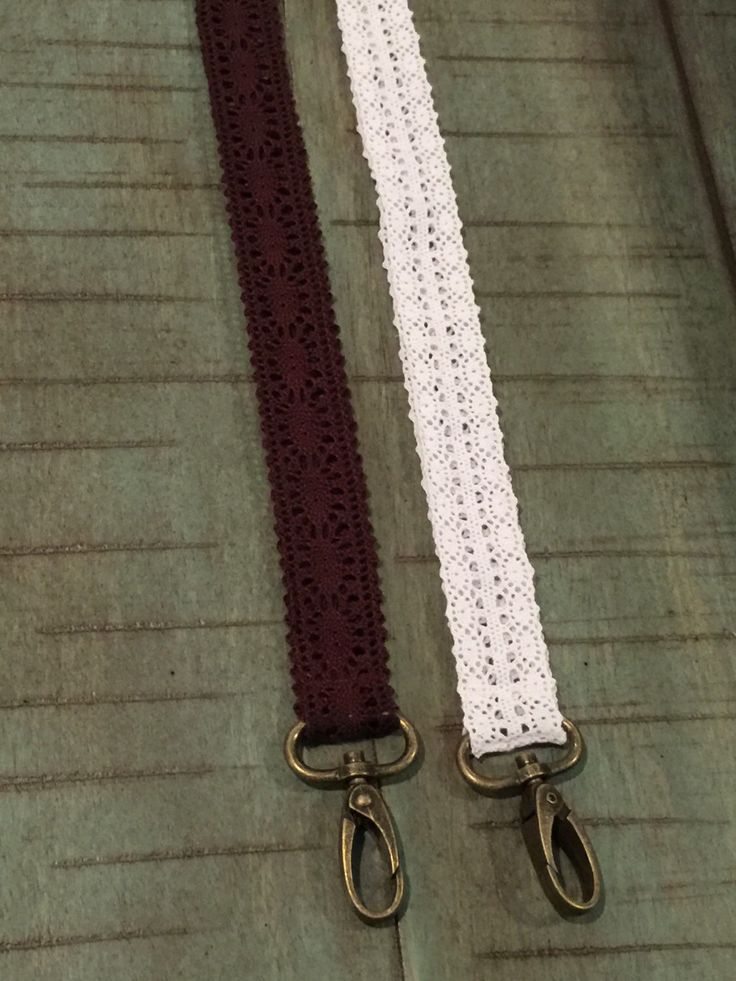 A personal favorite from my Etsy shop https://www.etsy.com/listing/268608499/lace-lanyard-shabby-chic-lanyard-cute