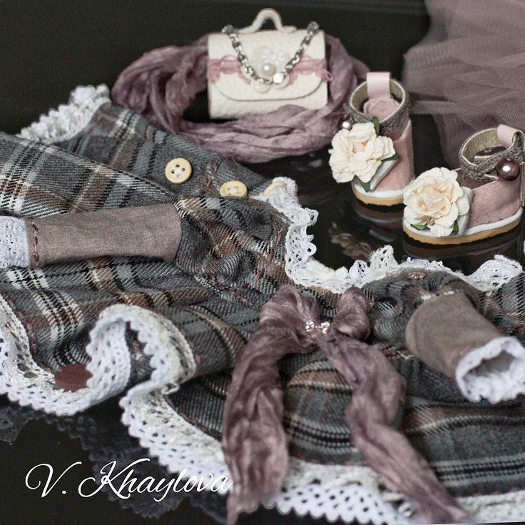 Лёгкого понедельника, Друзья !❄️🤗И да, видимо гардероб Малышек- это Моя Слабость😉 ❄️#интерьернаякукла #интерьернаяигрушка #кукланазаказ #платьедлякуклы