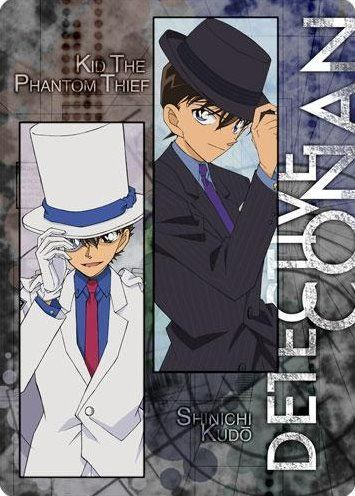 Kaito & Shinichi~ He looks good on a suit