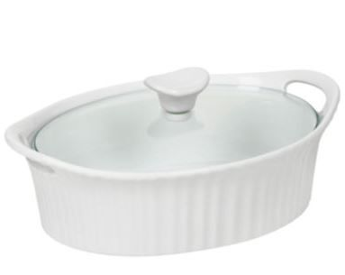STL Mommy « CorningWare French White III 1½-qt. Covered Oval Casserole $15.99 (Retail $52) + More