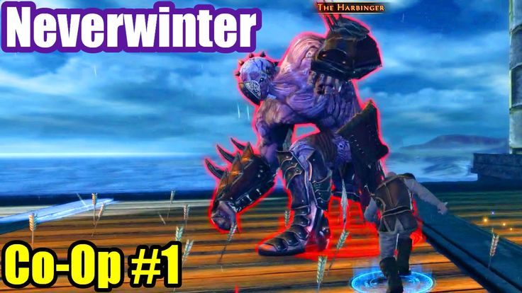 Neverwinter XBox One Co-Op Gameplay #1