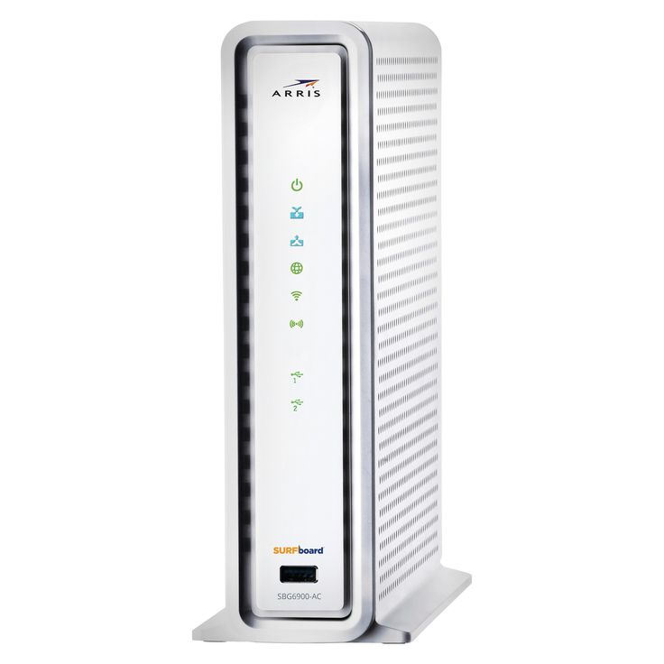 Arris SURFboard 16X Cable Modem with WiFi AC1900 Router - White (SBG6900AC)