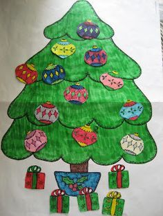 i heart primary music: I *smile* the day they put the tree up!!!