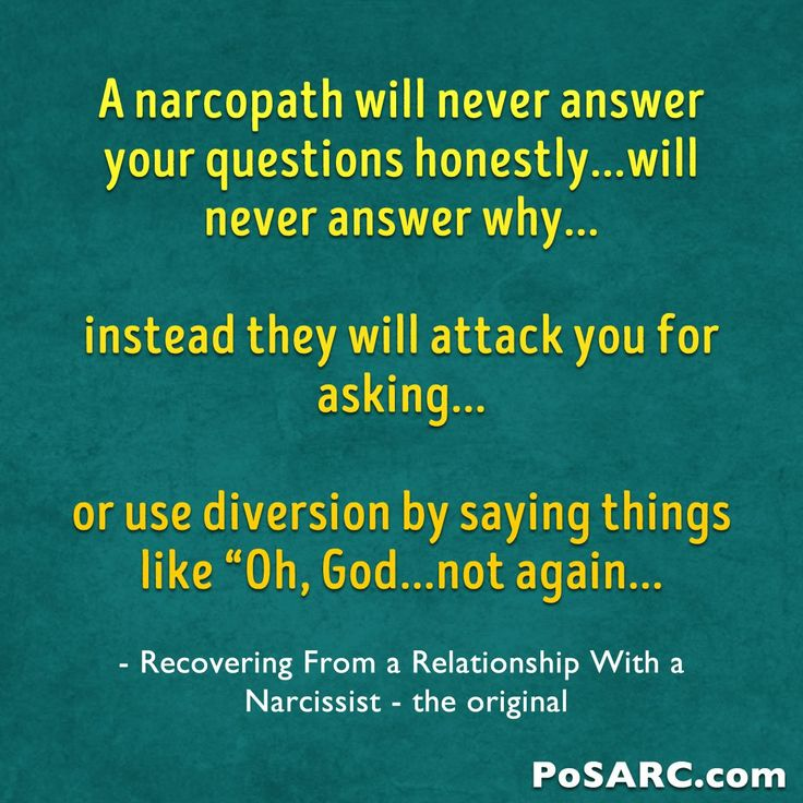 They Will Never Answer Your Questions Honestly but Will Attack You Instead for Asking | Recovering from a Relationship with a Narcissist