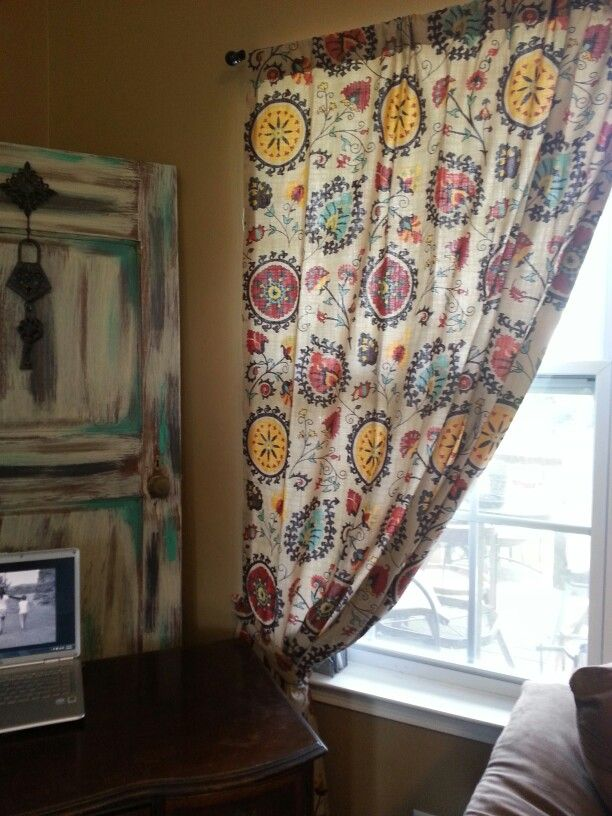 My new world market curtains!