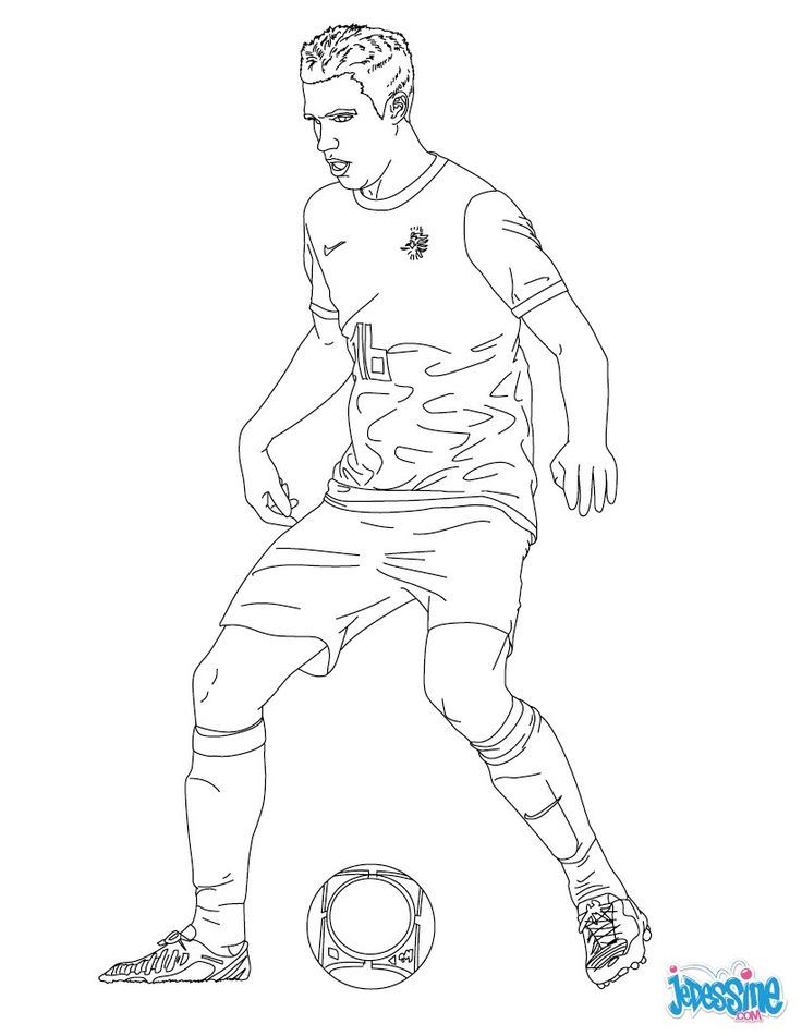 69 best coloriages football images by hellokids france on pinterest coloriage football - Dessin de foot france ...