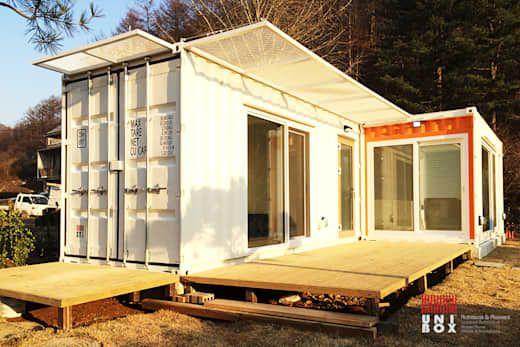 10 erschwingliche Gartenhäuser aus alten Containern