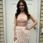 Adventures in Dressmaking: Bachelorette party, asymmetrical ruffle dress tutorial! Oooh!