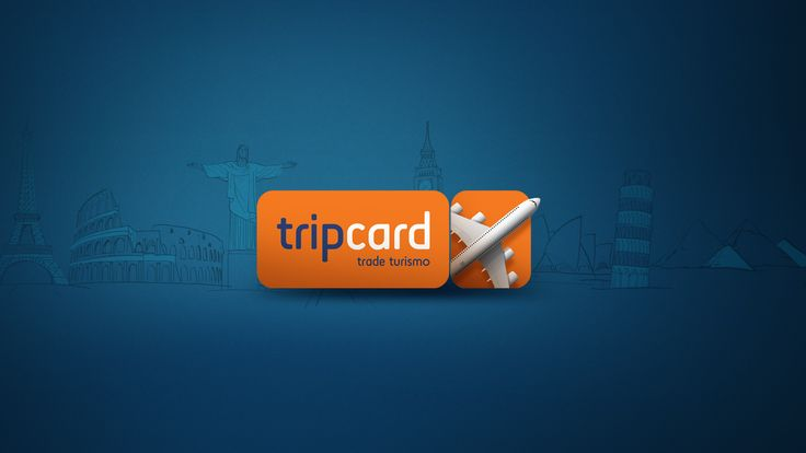 """Check out this @Behance project: """"TripCard - Trade Turismo"""" https://www.behance.net/gallery/36241779/TripCard-Trade-Turismo"""
