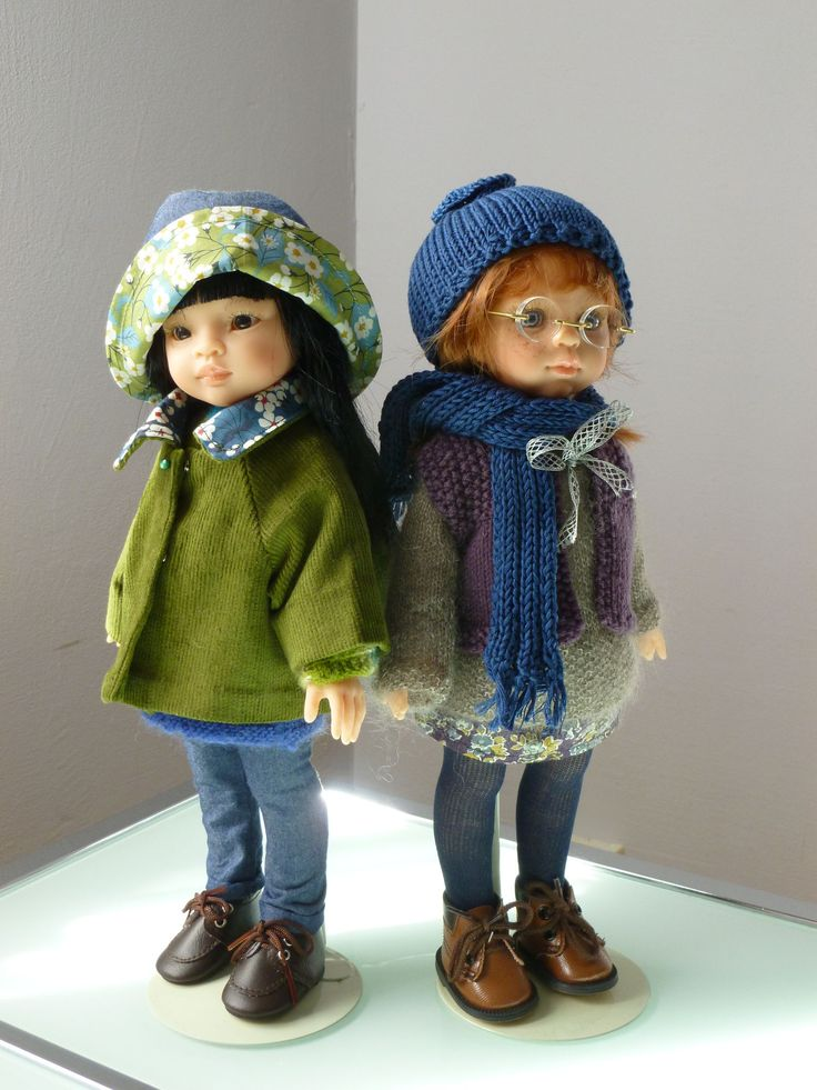 Les poupées manneqin Paola Reina sont de la taille exacte des poupées Corolle, les Chéries, et font de merveilleux modèles, pour un style petite fille