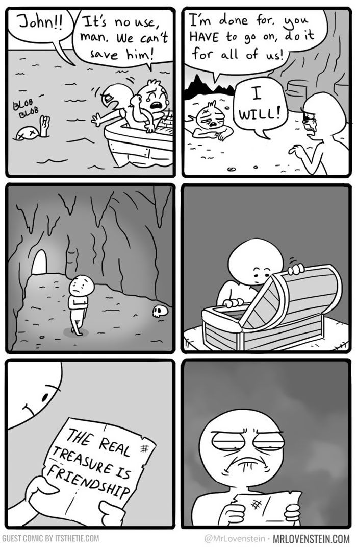 10+ Brutally Hilarious Comics For People Who Like Dark Humour