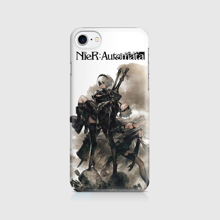 Nier Automata 2B Art Work Phone Case / Cover - Iphone, Samsung Galaxy
