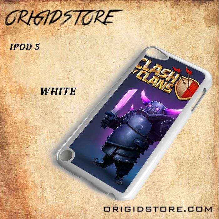 Clash of Clans Pekka For Ipod Touch 5 Snap On and 3D Case