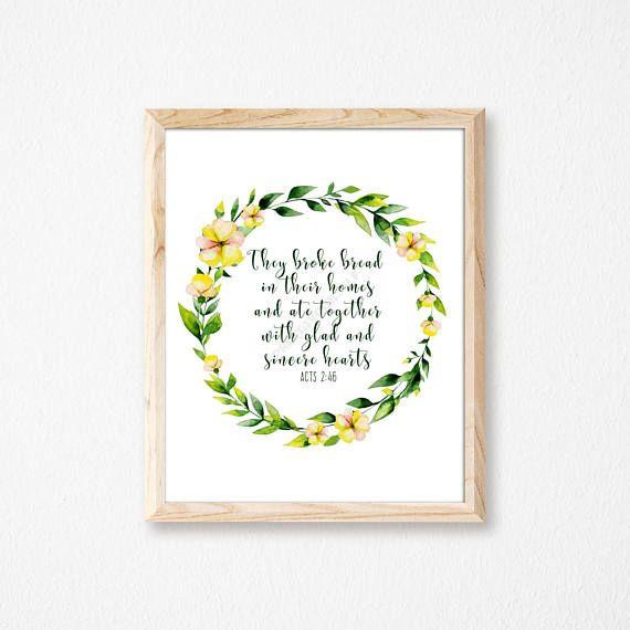 Easter Print. Easter Quote Print. Easter Wall Art. Easter