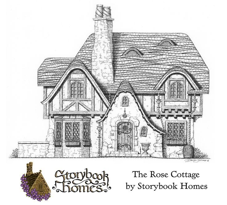 33 best fairytale home floor plans images on pinterest for Storybook cottages floor plans