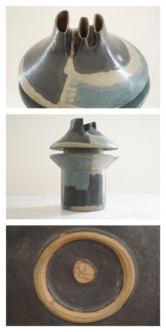 Annegret Knippel Ceramic Vessel, c.1960.