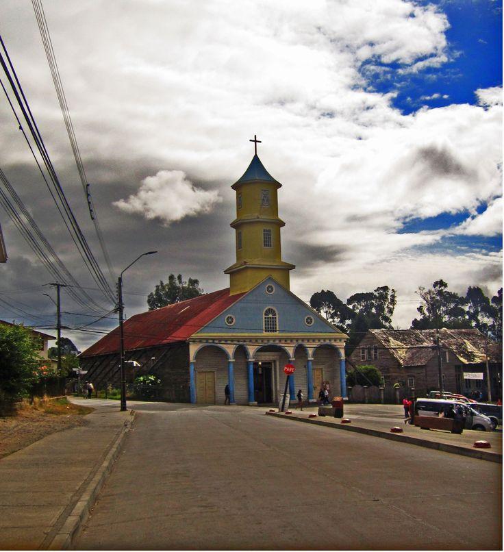 Iglesia de San Carlos de Borromeo-Chonchi-Patrimonio de la Humanidad