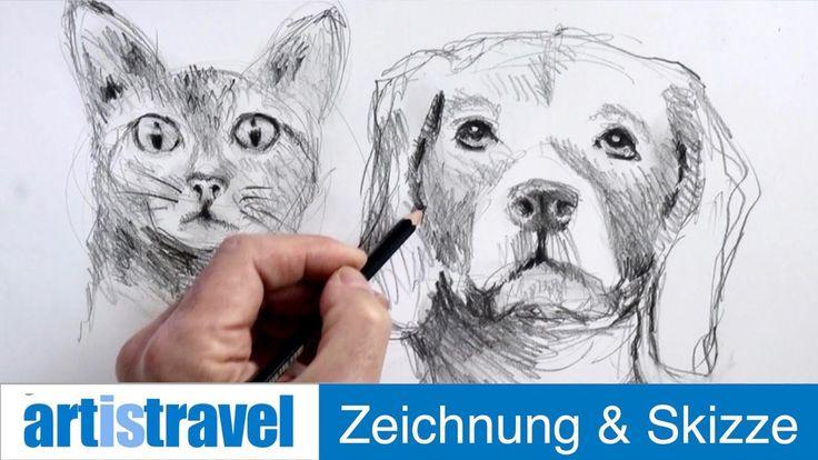 ganz einfach zeichnen lernen 20 tiergesichter  zeichnen