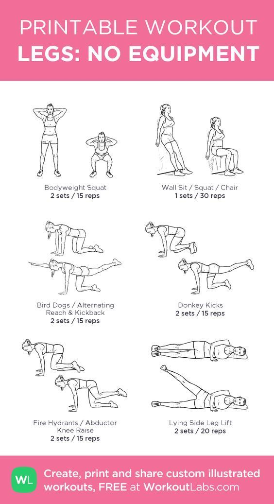 The Best Workouts Programs: Weight Free Total Workout