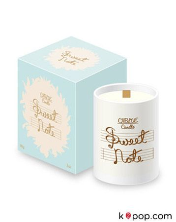 K2POP - [PRE-ORDER] [CNBLUE] 향초 'SWEET NOTE' CANDLE