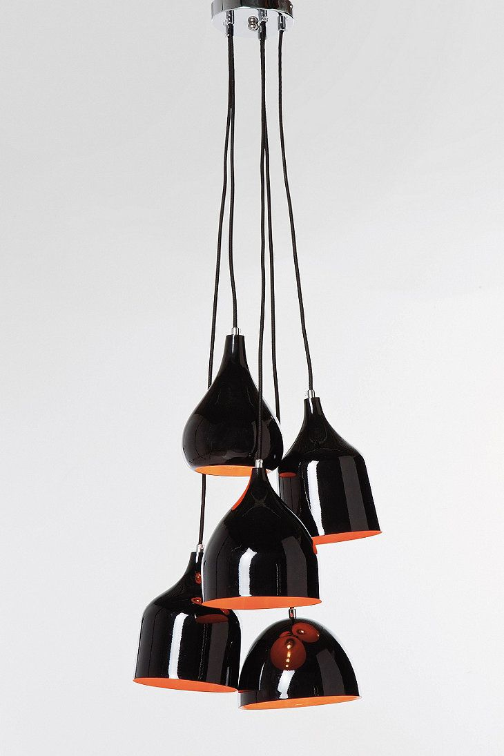 Kare Scandinavian Pendant Light in Black