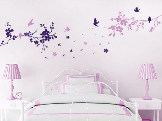 1000 images about wandtattoo motive fotorahmen b ume. Black Bedroom Furniture Sets. Home Design Ideas