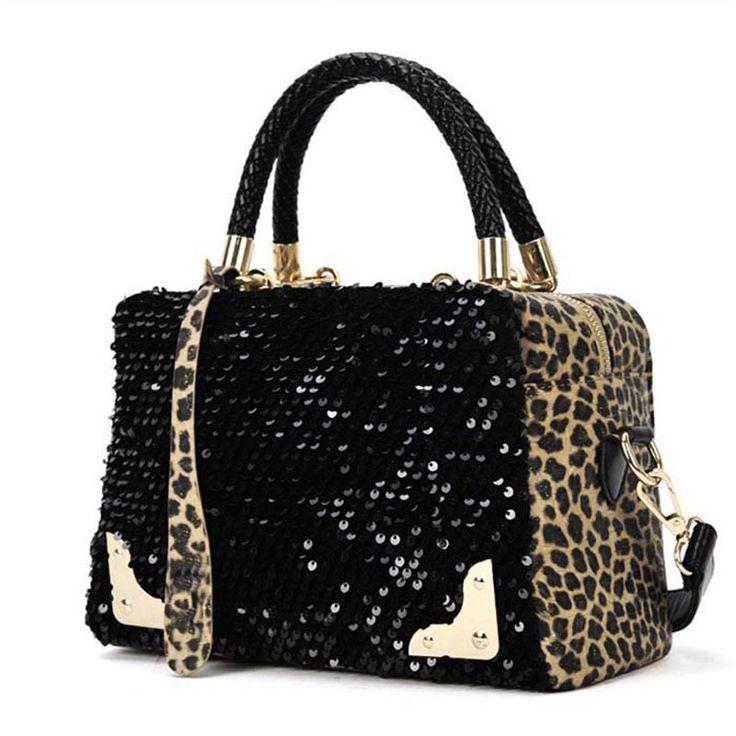 $8.61 (Buy here: https://alitems.com/g/1e8d114494ebda23ff8b16525dc3e8/?i=5&ulp=https%3A%2F%2Fwww.aliexpress.com%2Fitem%2FNew-2016-Brand-Ladies-Leather-Handbags-Luxury-For-Women-Sequin-Leopard-Messenger-Cross-Shoulder-Bag-Handbag%2F32722845208.html ) New Luxury Brand Leopard Fashion Ladies Leather Clutch Casual Women's Handbags Messenger Cross Shoulder Bag Handbag High Quality for just $8.61