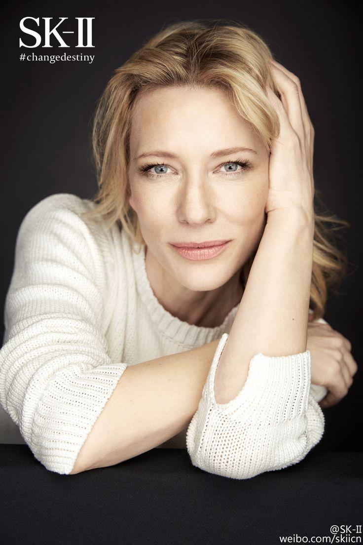 2016 SK-II #changedestiny Photoshoot - 003 - Cate Blanchett Fan | Cate Blanchett Gallery