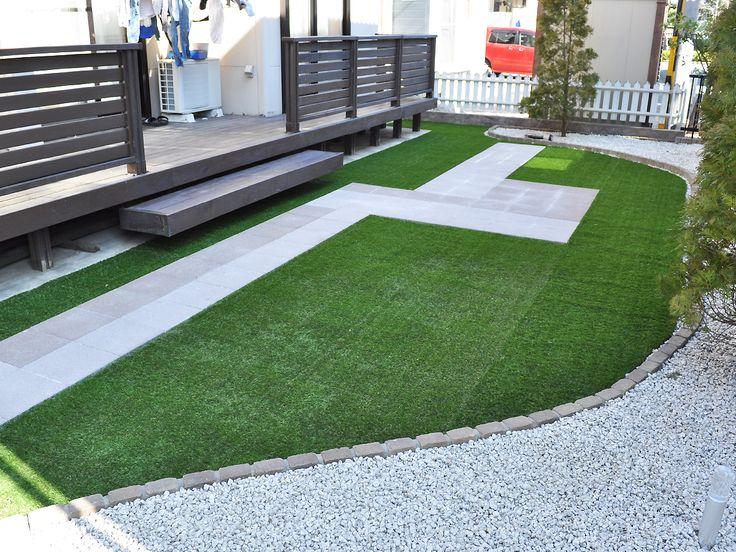 庭の雑草対策で人工芝や砂利などにリフォームする費用は? 人工芝はどんな特徴がある?