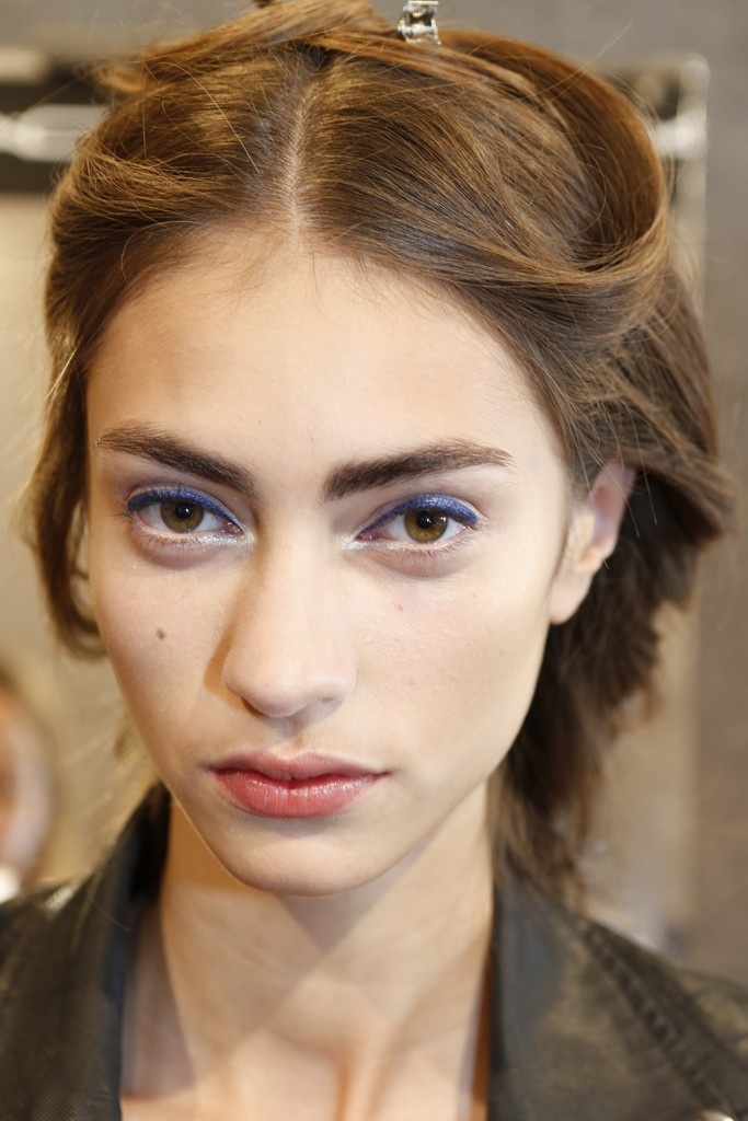 Backstage at Just Cavalli RTW Spring 2013Makeup