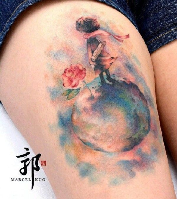 - 50 The Little Prince Tattoos