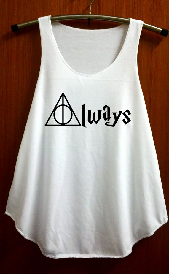Always Harry Potter Clothing Shirts Deathly Hallows by ABBEYSTORE, $14.99